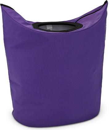 Сумка для белья 55л фиолетовая Brabantia 101168