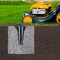 Сушилка для белья уличная для установки в бетон 50м Brabantia Lift-O-Matic Advance 100222