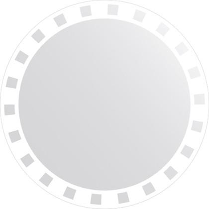 Зеркало для ванной с орнаментом диаметр 80см FBS CZ 0740