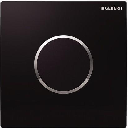 ИК привод смыва для писсуара пластиковый, чёрный Geberit Sigma10 116.025.KM.1