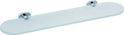Полка стеклянная 520мм, хром Bemeta Oval 118402031