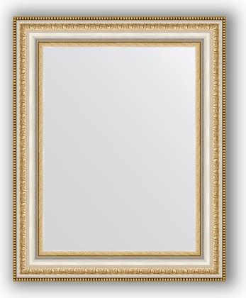 Зеркало 41x51см в багетной раме бусы платиновые Evoform BY 1349