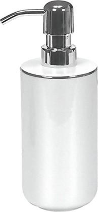 Ёмкость для жидкого мыла Kleine Wolke Noblesse, фарфор, белый 5075127854