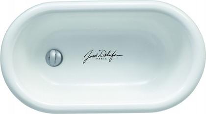Ванна чугунная детская 79x44см Jacob Delafon MATERNELLE E2176-00