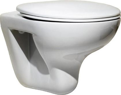 Унитаз подвесной с горизонтальным выпуском, белый Roca MATEO 346200000