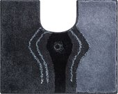 Коврик для туалета Grund Crystal, 50x60см, полиакрил, с кристаллами Сваровски, антрацит b2440-064068