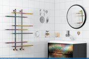 Полотенцесушитель 800x900 водяной Сунержа Фурор+ 00-4108-8090