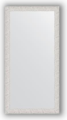 Зеркало в багетной раме 51x101см чеканка белая 46мм Evoform BY 3066