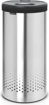 Бак для белья 35л стальной матовый с пластиковой крышкой Brabantia 103469