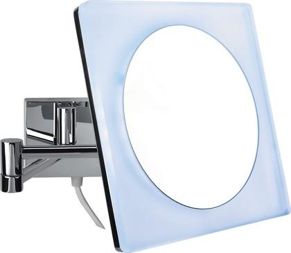 Зеркало косметическое Colombo Complementi, настенное, LED-подсветка, d20см, хром B9756.0CR