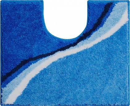Коврик для туалета 50x60см синий Grund Luca b3742-006001247