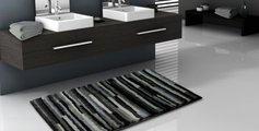 Коврик для ванной 60x60см серый пёстрый Grund Tara 3620.64.068