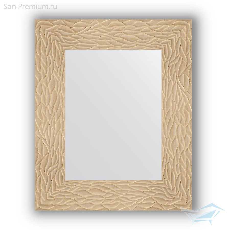 10235c834207 Зеркало в багетной раме 46x56см золотые дюны 90мм Evoform BY 3021 ...