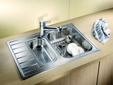 Корзина для посуды с держателями нержавеющая сталь 390х310х135мм Blanco 220573