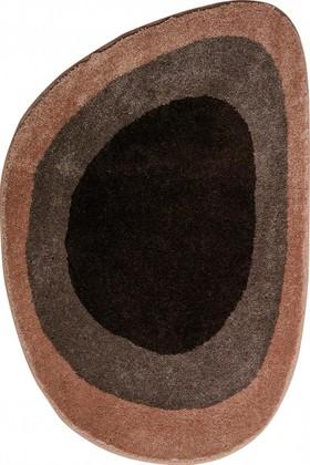 Коврик для ванной 70x105см коричневый Grund Lake 2596.33.3316