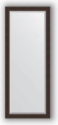 Зеркало 61x151см с фацетом 25мм в багетной раме палисандр Evoform BY 1184