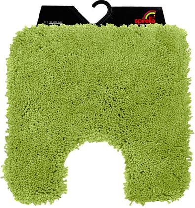 Коврик для туалета 55x55см оливковый Spirella HIGHLAND 1014172