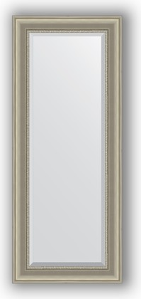 Зеркало 56x136см с фацетом 30мм в багетной раме хамелеон Evoform BY 1255