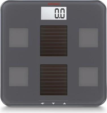Весы напольные электронные на солнечной батарее серые 150кг/100гр Soehnle Solar fit 63342