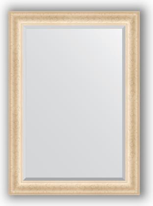 Зеркало 75x105см с фацетом 30мм в багетной раме старый гипс Evoform BY 1292