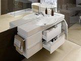 Шкафчик под раковину 119.3см, белый глянцевый Laufen CASE FOR PALACE 4.0130.2.075.464.1