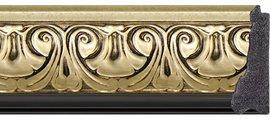 Зеркало 70x100см с фацетом 30мм в багетной раме барокко золото Evoform BY 1281