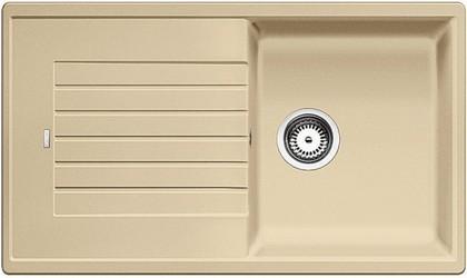 Кухонная мойка оборачиваемая с крылом, гранит, шампань Blanco Zia 5 S 520517