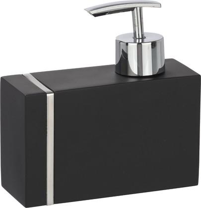 Ёмкость для жидкого мыла чёрная Wenko Noble 20463100