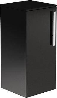 Шкаф средний подвесной, 1 дверь, 2 полки, левый 30х34х76см Verona Lusso LS402L