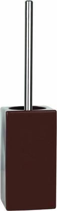 Ёрш с керамической коричневой подставкой Spirella Quadro 1013660