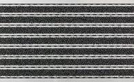 Коврик придверный 40x60см для улицы серый, резина / алюминий Golze ELEGANT MAT 1870-15-04