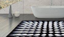 Коврик для ванной 60x60см чёрный Grund Karim 07 3644.64.014