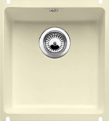 Кухонная мойка без крыла, с клапаном-автоматом, керамика, жасмин Blanco Subline 375-U PuraPlus 516040