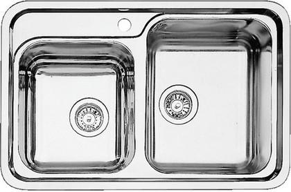 Кухонная мойка без крыла, нержавеющая сталь зеркальной полировки Blanco Classic 8-IF 514641