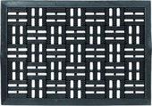 Коврик придверный Golze Dynamic 40х60 черные квадраты, резина 327-15-01