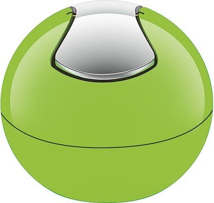 Настольный контейнер для мусора Spirella Bowl-Shiny, 1л, салатовый 1015112
