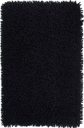 Коврик для ванной 60x90см чёрный Grund CORALL 892.14.014
