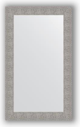 Зеркало в багетной раме 70x120см чеканка серебряная 90мм Evoform BY 3215