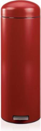 Мусорный бак 20л высокий с педалью, MotionControl, красный Brabantia Retro Slim 479182