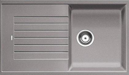 Кухонная мойка оборачиваемая с крылом, гранит, алюметаллик Blanco Zia 5 S 520513