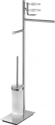 Стойка с аксессуарами для ванной и туалета поворотная 810мм, хром Colombo SQUARE B9913