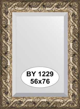 Зеркало 56x76см с фацетом 30мм в багетной раме фреска Evoform BY 1229