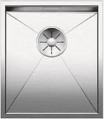 Кухонная мойка Blanco Zerox 340-U, отводная арматура, полированная сталь 521583