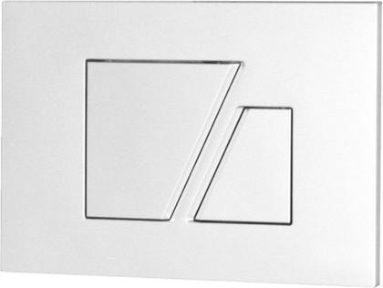 Клавиша смыва для инсталляции для унитаза, белая Sanit 16.707.01..0000