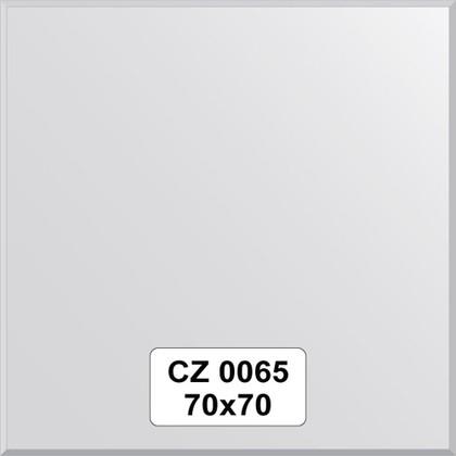 Зеркало для ванной 70x70см с фацетом 10мм FBS CZ 0065