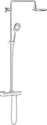 Душевая система с термостатом для настенного монтажа, хром Grohe RAINSHOWER Icon System 190 27417000