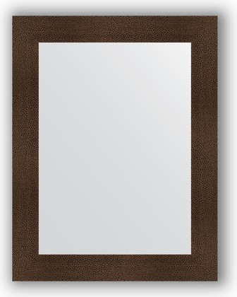 Зеркало в багетной раме 70x90см бронзовая лава 90мм Evoform BY 3184