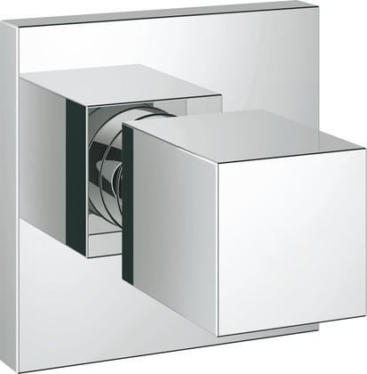 Накладная панель скрытой вентильной головки для душа Grohe Eurocube, хром 19910000