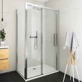Душевой уголок Roth Exclusive ECD2P, 130x90см, дверь справа, прозрачное стекло, хром 565-130000P-00-02/563-9000000-00-02