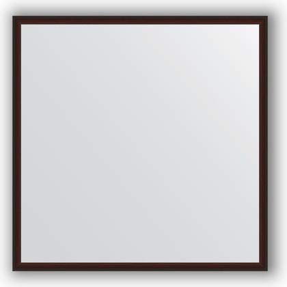 Зеркало 58x58см в багетной раме махагон Evoform BY 0604